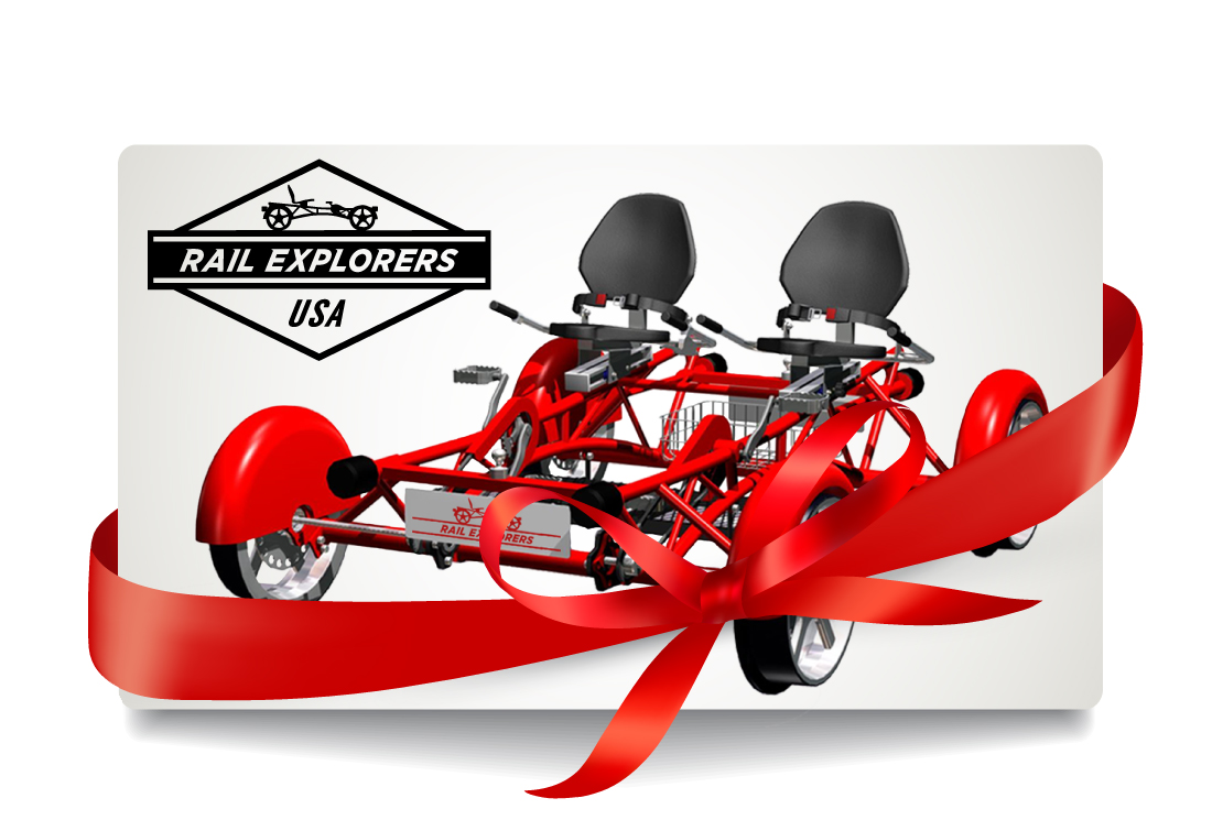 Gift Card: Tandem Explorer (up to 2 riders)