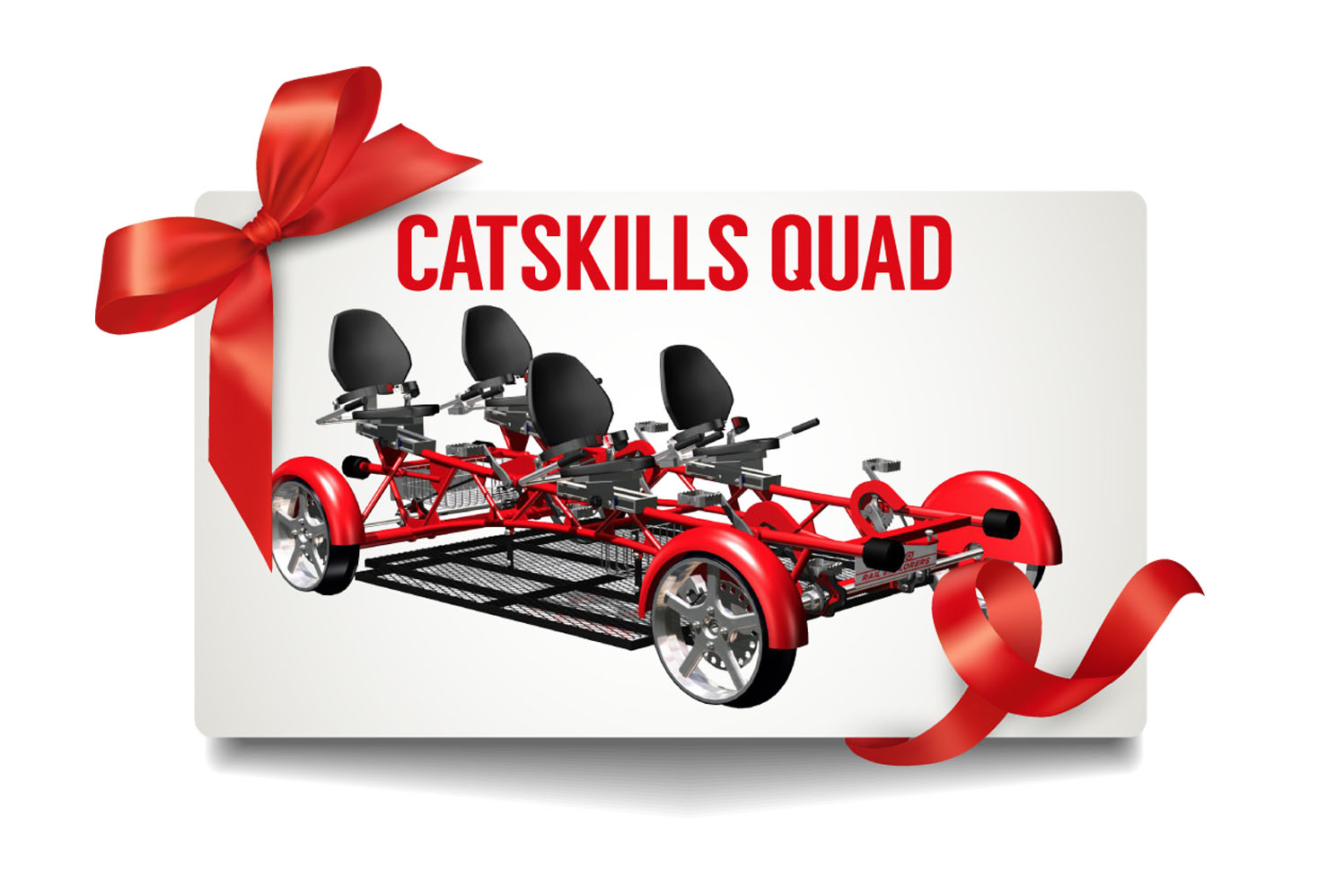 Gift Card: Catskills Weekend Quad $175