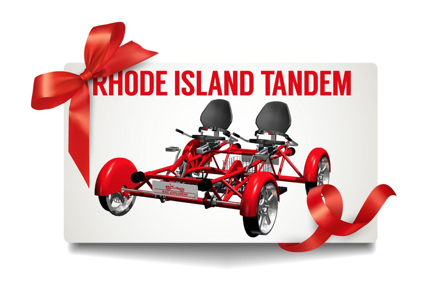 Gift Card: Rhode Island Tandem $85