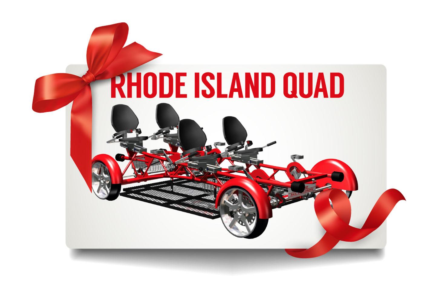 Gift Card: Rhode Island Quad $150