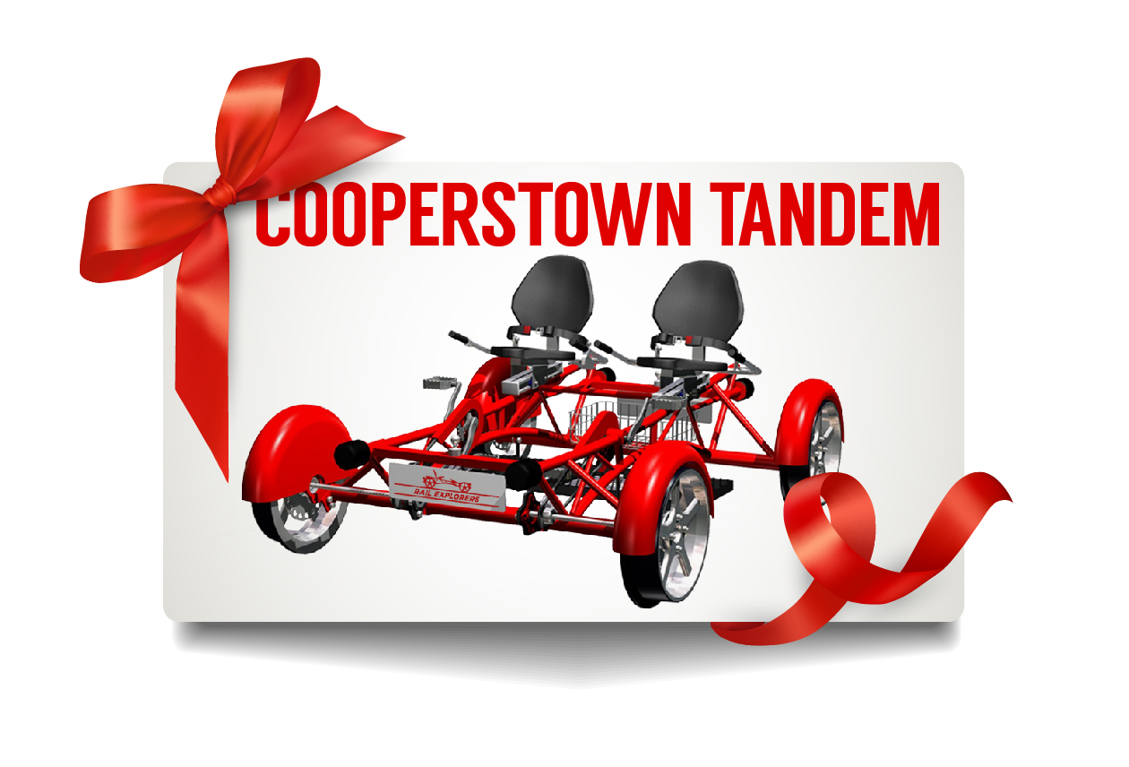 Gift Card: Cooperstown Tandem $95