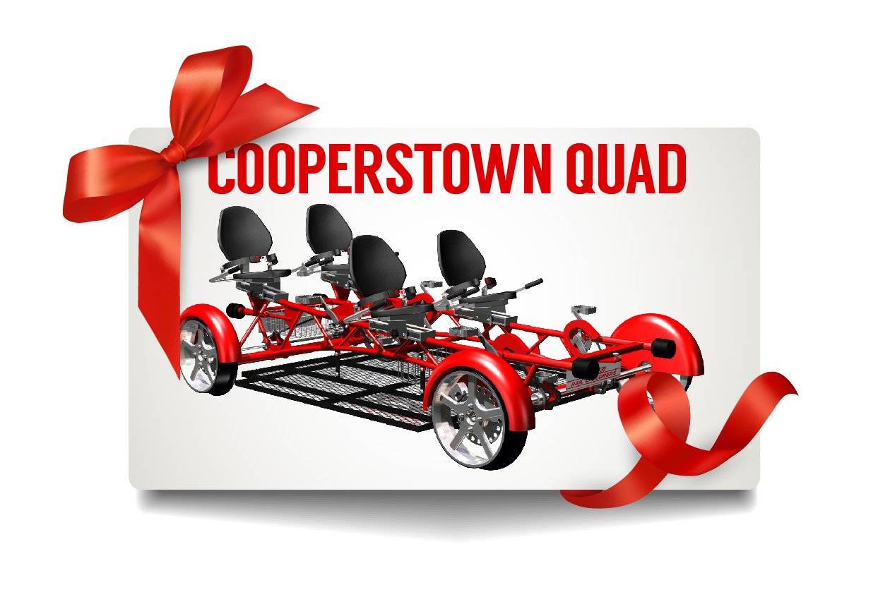 Gift Card: Cooperstown Quad $175
