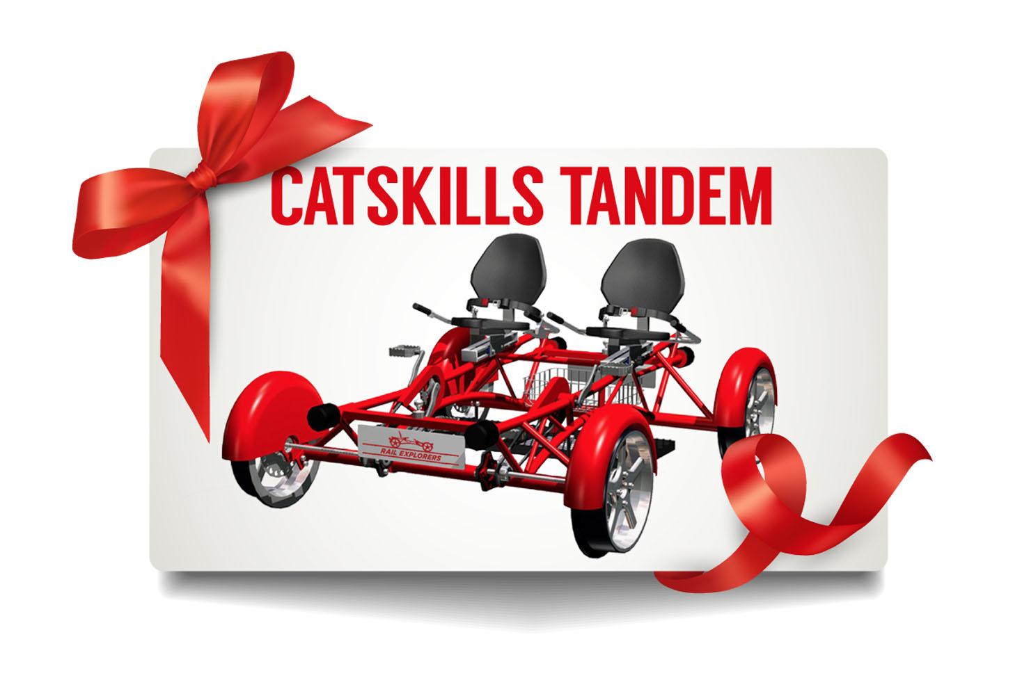 Gift Card: Catskills Tandem $85