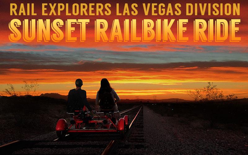 Las Vegas: Sunset Railbike Ride