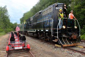 Rail Explorers and the Adirondack Scenic Railroad